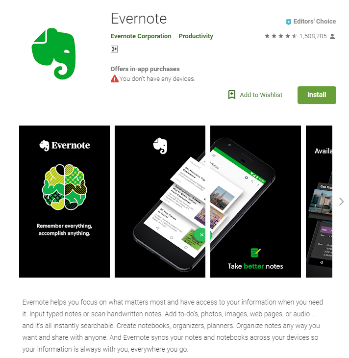 best-sales-apps--evernote
