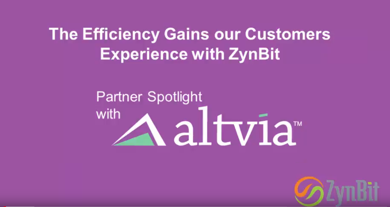 Efficiency Gains our Customers Experience with ZynBit