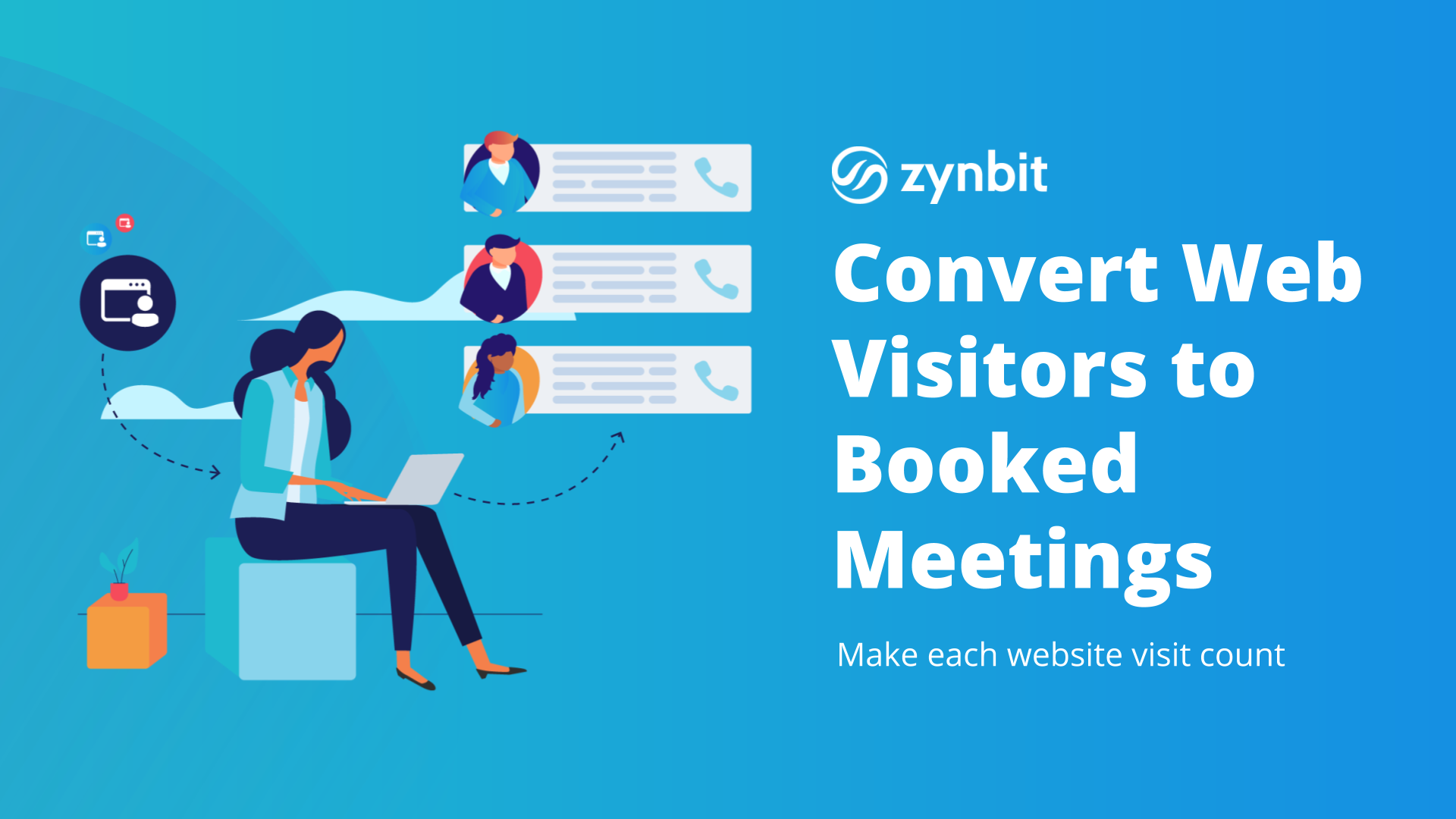 Convert Web Visitors to Booked Meetings