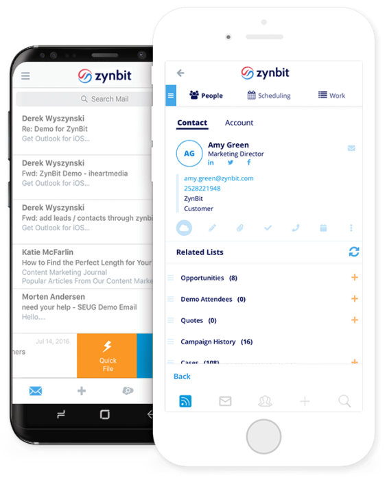 Mobile-inbox-mobile-crm-zynbit