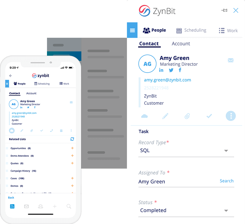 Mobile-CRM-Call-logging-zynbit